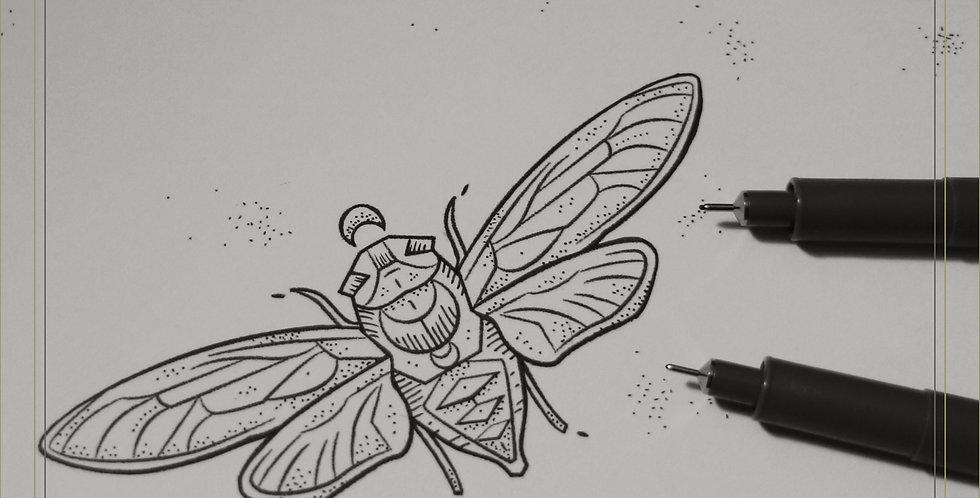 ORIGINAL ART | Little Wings