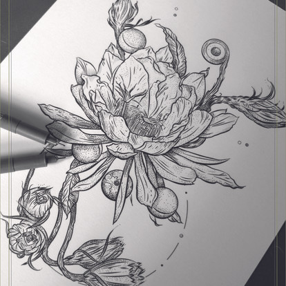 ON THE DESK | Moon Epiphyllum