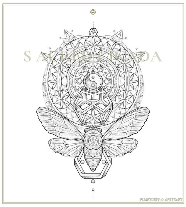 Sacred Cicada