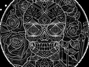 CUSTOM INK | Geo Sugar Skull