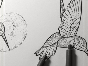 FLASH INK | Hummingbird