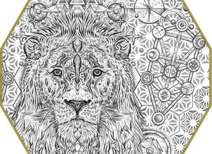 CUSTOM INK | Cosmic Lion