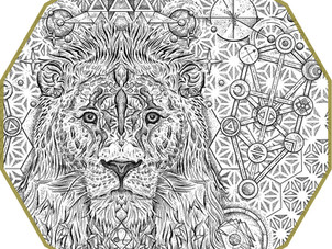 CUSTOM INK | Cosmic Lion