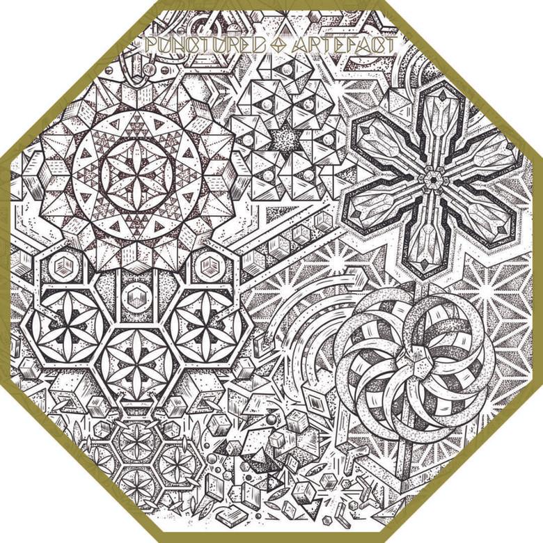 Atom | Custom Sleeve | Close Up | Tattoo Art