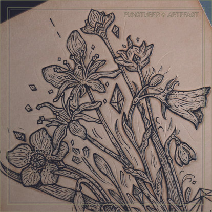 LEATHER ART | Alpine Flowers