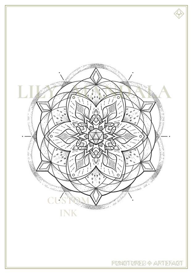 Lily Mandala