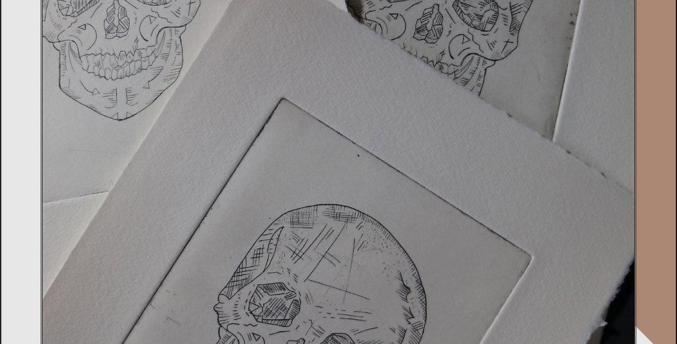 ETCHING | Skull Line
