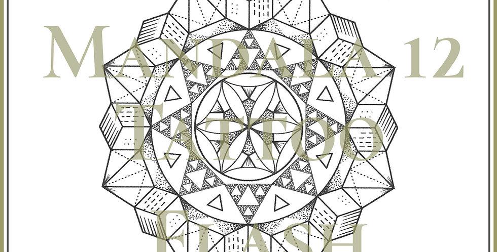 MANDALA 12 | Pascal Triangle