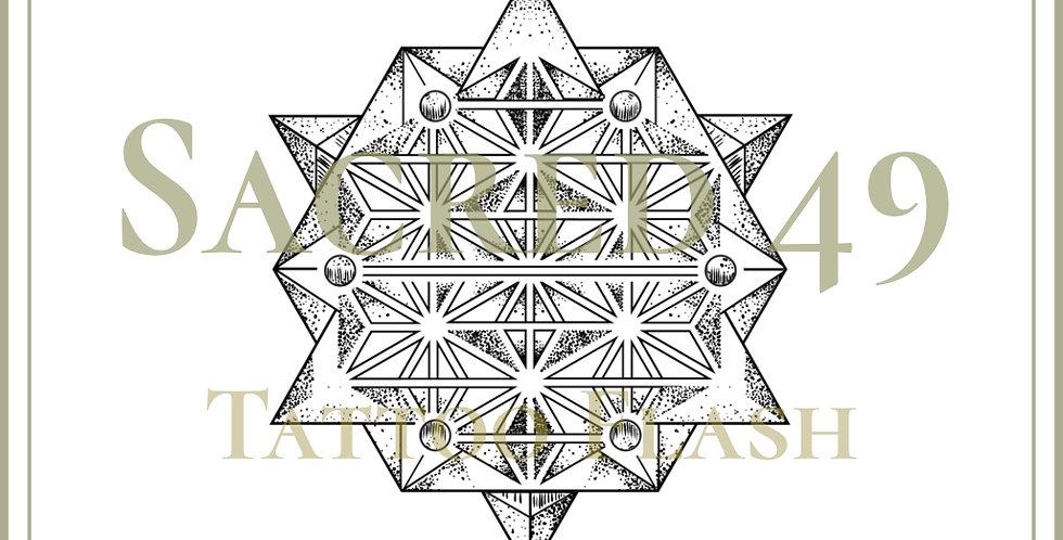 SACRED 49 | Asanoha Tetrahedron