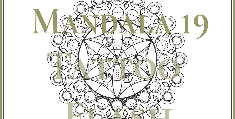 MANDALA 19 | Flower Cube