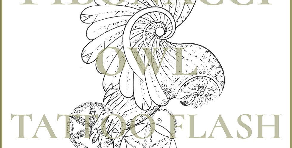 SACRED  26 | Fibonacci Barn Owl