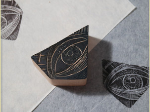 ON THE DESK | Wood Engraving Experiment