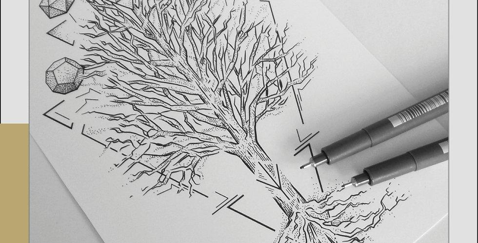 ORIGINAL ART | Protection Tree