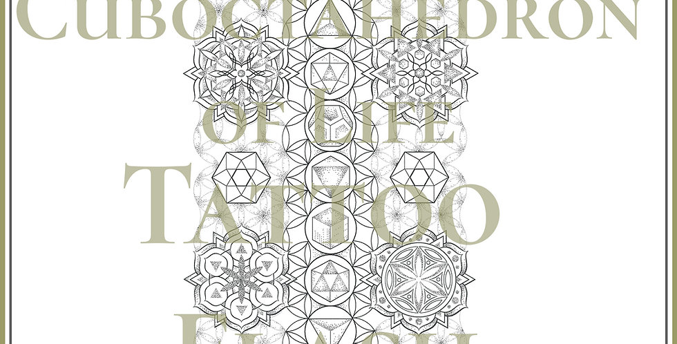SACRED 38 | Cuboctahedron of Life