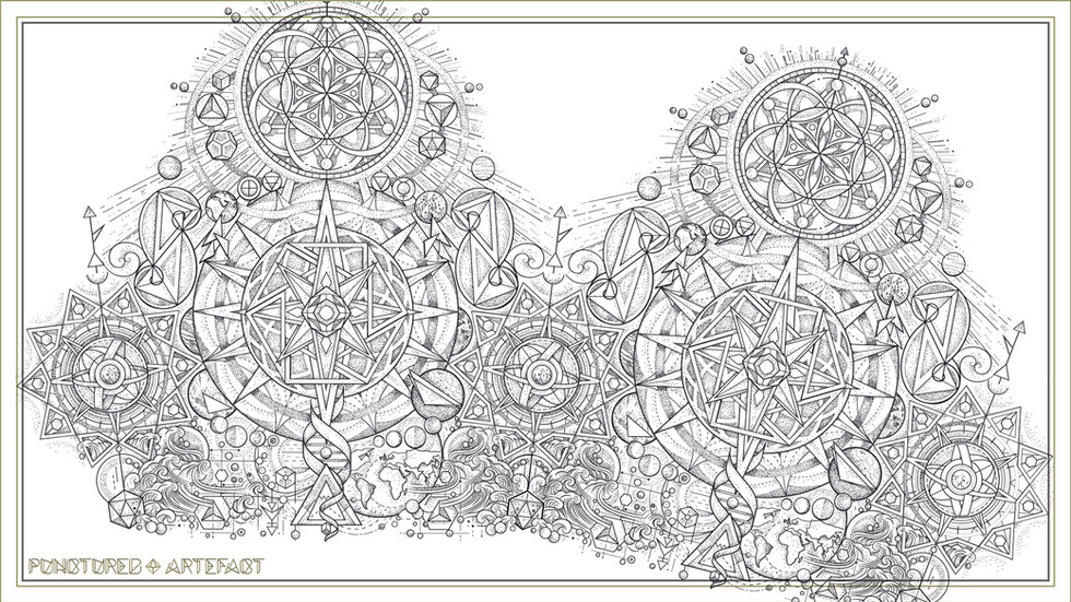Navigation Tattoo Sleeve