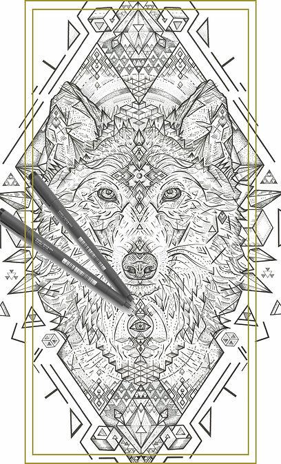 Cosmic Wolf | Art