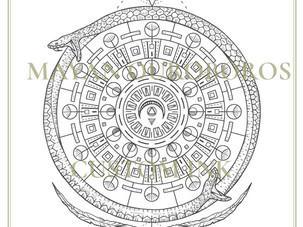 CUSTOM DESIGN | Mayan Ouroboros