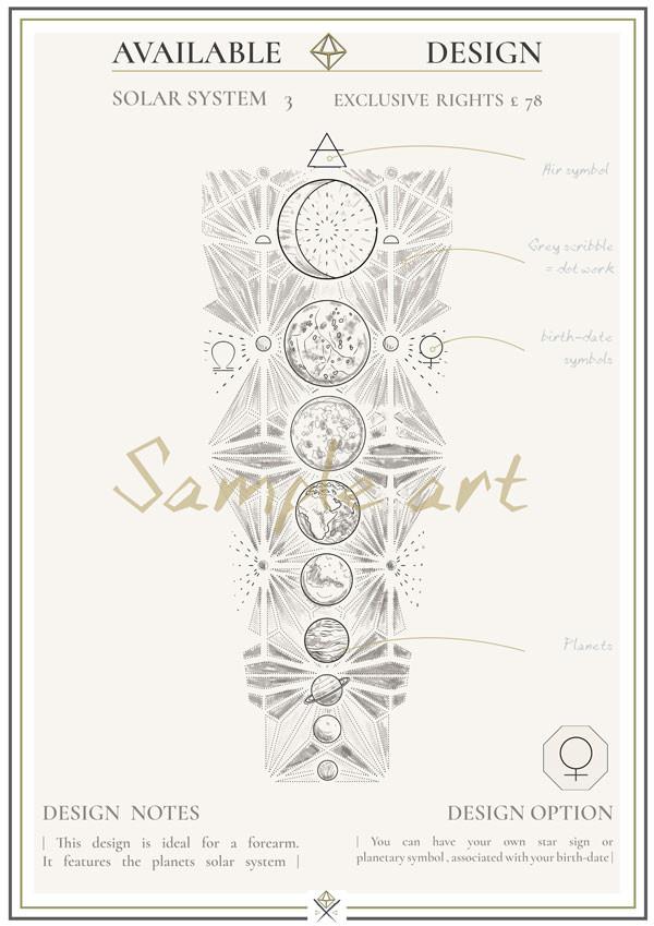 Rough Sketchbook Design - Solar 3