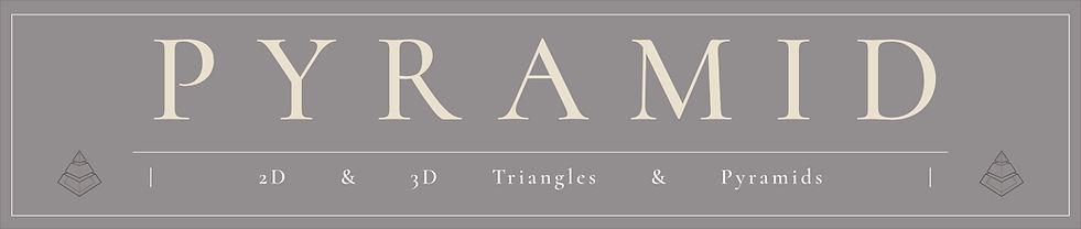 Pyramid & Triangle Tattoo Flash Designs | Instant Download