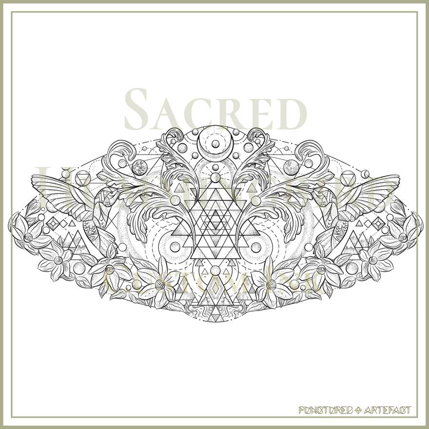 Sacred-Hummingbird-custom-tattoo