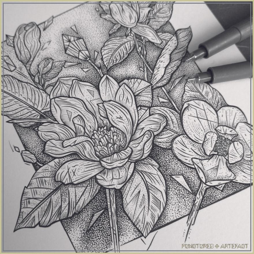 Magnolia Stems