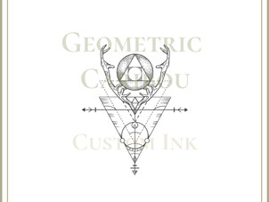CUSTOM DESIGN | Geometric Caribou