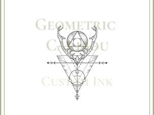 CUSTOM DESIGN | Geometric Caribou