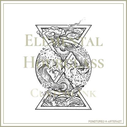 CUSTOM INK | Elemental Hourglass