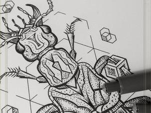 FLASH INK | 5 New Beetle Designs