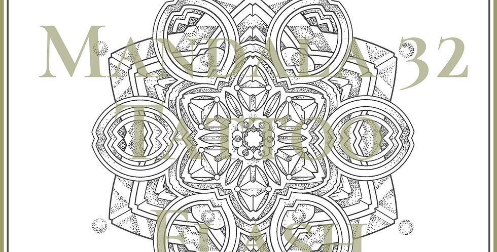 MANDALA 32 | Loop Flower