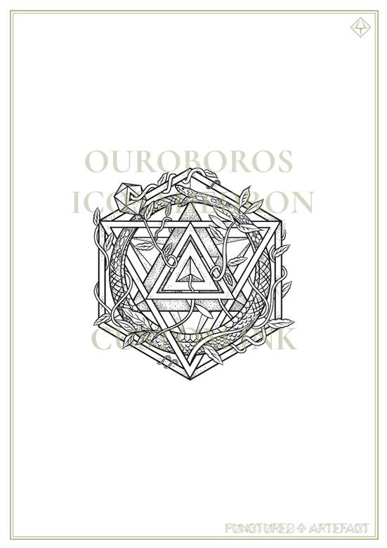 Ouroboros Icosahedron