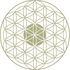 Flower Of Life Vector Icon | Sacred Geometry Tattoo Flash