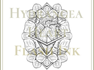 FLASH INK | Hydrangea Designs