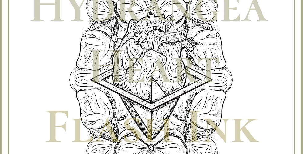HEART 18    Hydrangea Heart