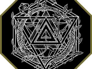 CUSTOM INK. Ouroboros Icosahedron