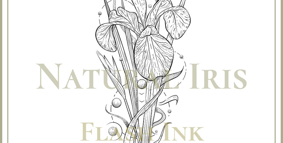 BOTANICAL 36 | Natural Iris