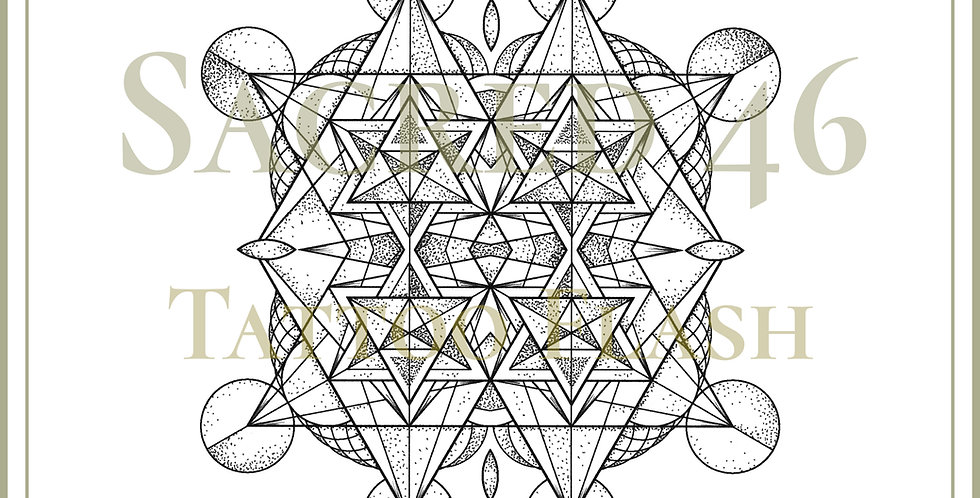 SACRED 46   Fire Tetrahedron