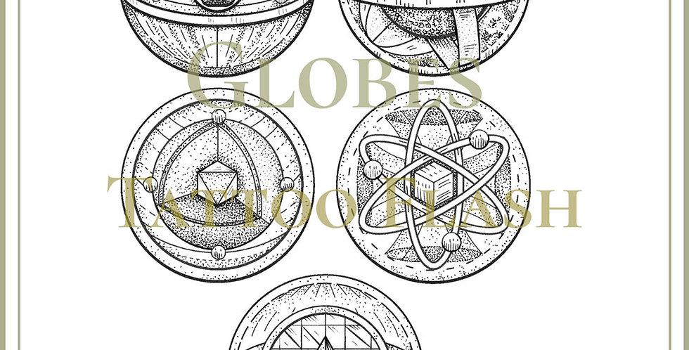 COSMIC 6    Celestial Globes
