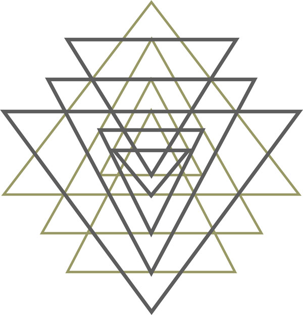 Yantra Tattoo Flash | Instant Download | Punctured Artefact