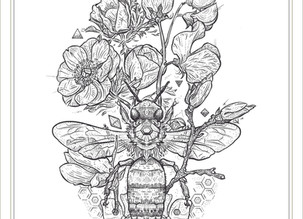 DRAWING | Gratitude Bee
