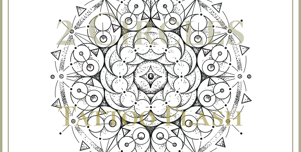 MANDALA 44 | Two Circles