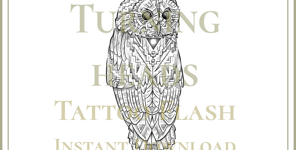 ORIGINAL ART |  Tawny Owl
