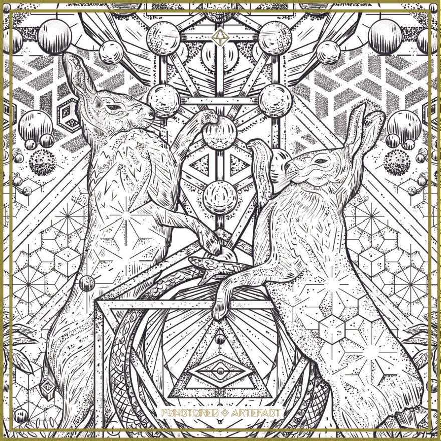 Harmonic Hares | Upper Sleeve