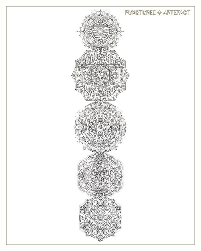 Chakra Totem | Tattoo Design