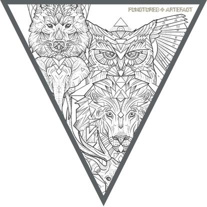 CUSTOM INK | Mini Geometric Animals