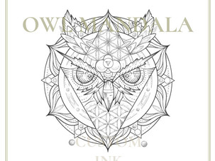 CUSTOM INK | Owl Mandala