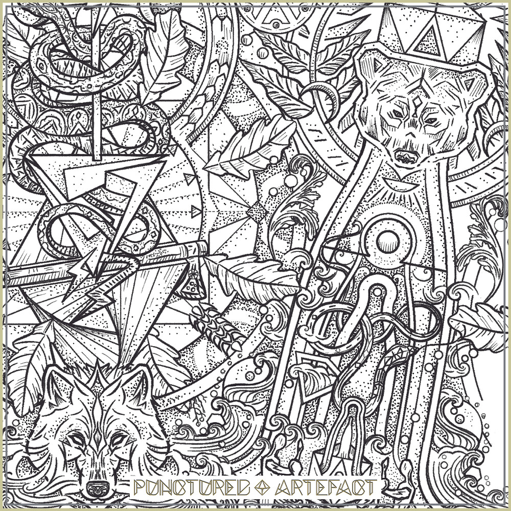 Perun & Veles | Tattoo Design | Punctured Artefact