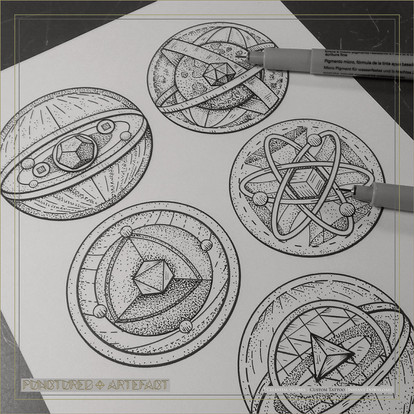 FLASH INK | Celestial Globes