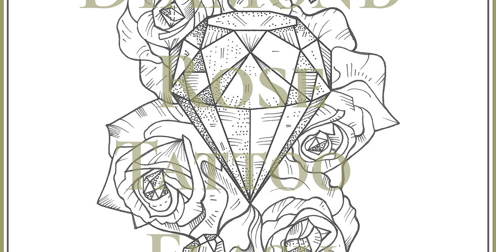 BOTANICAL 13 | Diamond Rose