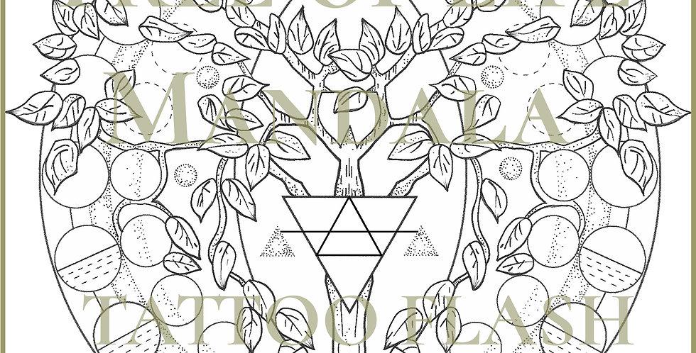 SACRED 10 | Tree of Life Mandala
